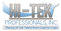 Jobs at Hi-Tek Professionals, Inc.