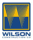 Jobs at Wilson Construction Co