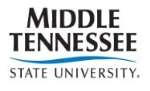 Jobs at Middle Tennessee State University